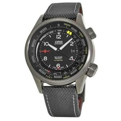 腕時計 オリス メンズ Oris Big Crown ProPilot  47mm Men's Watch 01 733 7705 4234-Set5 23 16GFC