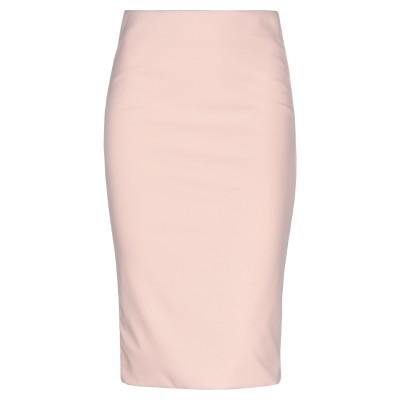 SOALLURE ひざ丈スカート ライトピンク 38 ポリエステル 95% / ポリウレタン 5% ひざ丈スカート