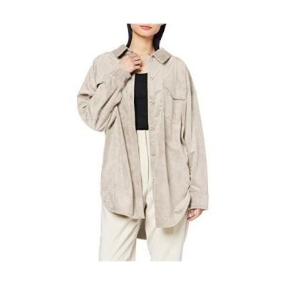 [ミラオーウェン] エコレザーシャツカバーオール 09WFJ201105 レディース IVR 日本 F (FREE サイズ)