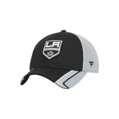 ホッケー NHL ファナティクス ブランド Los Angeles Kings Black Tactical Flex Hat