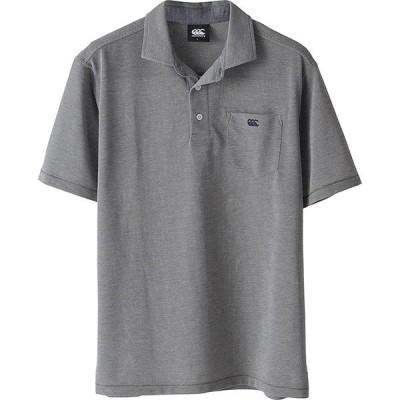 【P2倍+5%OFFクーポン】  カンタベリー メンズ ラグビー ポロシャツ フレックスクール コントロール 半袖 RA38121 46