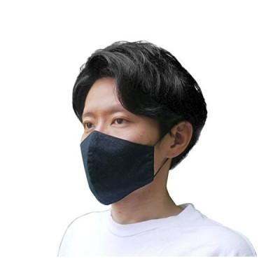 三河木綿 立体 布マスク 日本製 洗える 2枚セット メンズ