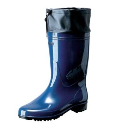 弘進ゴム メンズ レディース 男女兼用 PVC製長靴 ラバーブーツ 耐油仕様 日本製 ギャランG-01 ブルー