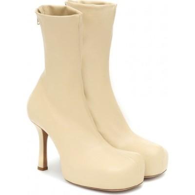 ボッテガ ヴェネタ Bottega Veneta レディース ブーツ ショートブーツ シューズ・靴 bv bold leather platform ankle boots Butter
