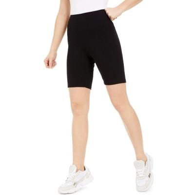 バースリー カジュアルパンツ ボトムス レディース Bodycon Biker Shorts,  Deep Black
