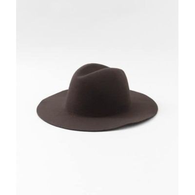 URBAN RESEARCH OUTLET / 中折れフェルトハット∴ WOMEN 帽子 > ハット