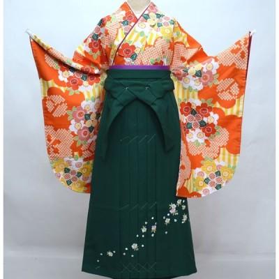 二尺袖 着物 袴フルセット 夢千代 着物丈は着付けし易いショート丈 袴変更可能 新品(株)安田屋 g430228303