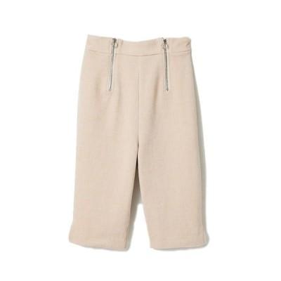 パンツ 【WEB限定】ZIPデザインハーフパンツ