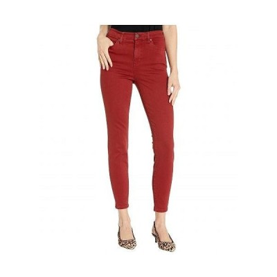 Liverpool ライブプール レディース 女性用 ファッション ジーンズ デニム Abby Hi-Rise Ankle Skinny in Slub Stretch Twill Jeans in Cherry Wood - Cherry