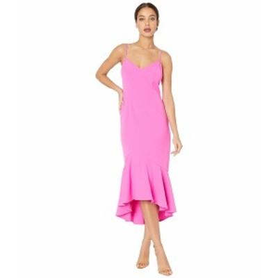 バードット レディース ワンピース トップス Lisandra Midi Dress Pink Shock