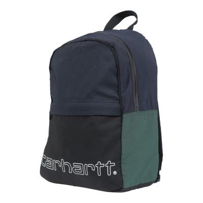 カーハート CARHARTT バックパック&ヒップバッグ ダークブルー ナイロン 100% バックパック&ヒップバッグ