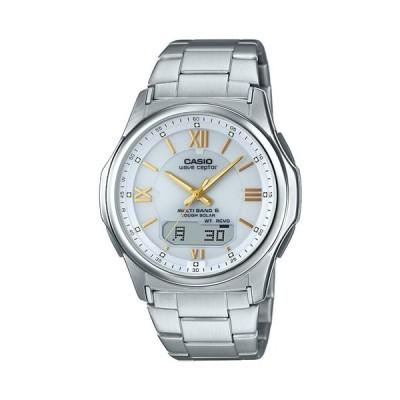 (国内正規品)CASIO(カシオ) 腕時計 WVA-M630D-7A2JF WAVE CEPTOR(ウェーブセプター) 電波 マルチバンド6 タフソーラー アナログ ステンレスバンド メンズ