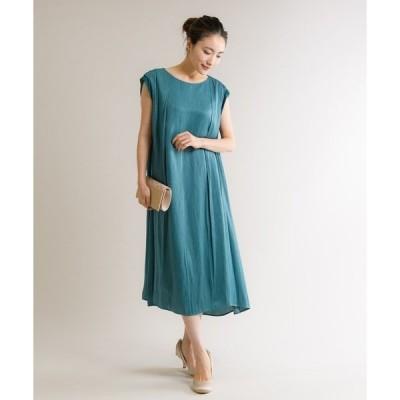 ドレス 【KATHARINE ROSS】結婚式 ブランビジューサテン ストレートフレアドレス