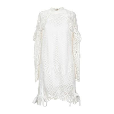 SELF-PORTRAIT ミニワンピース&ドレス アイボリー 6 ポリエステル 100% ミニワンピース&ドレス