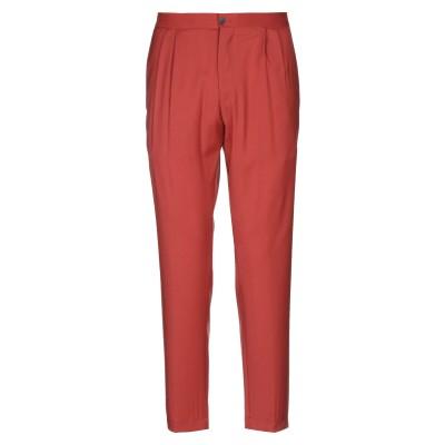 DEVORE INCIPIT パンツ 赤茶色 52 バージンウール 100% パンツ