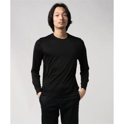 tシャツ Tシャツ //シルクスムースクルーネックカットソー