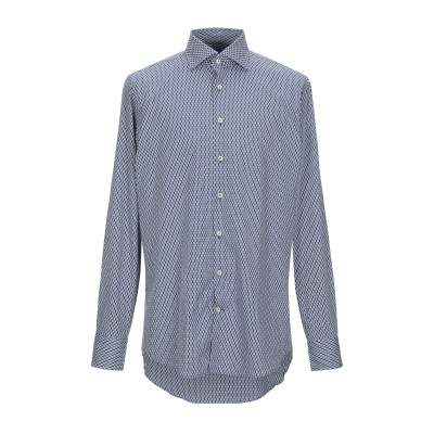 VAN GILS シャツ ダークブルー 41 コットン 100% シャツ