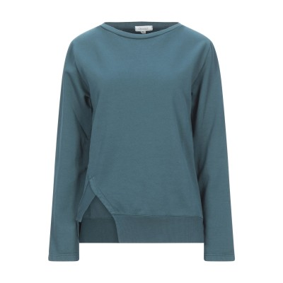 CROSSLEY スウェットシャツ ディープジェード XS コットン 100% スウェットシャツ