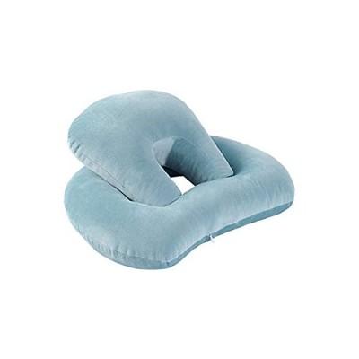 Freahap お昼寝枕 昼寝 枕 昼寝枕 まくら うつ伏せ デスク オフィス 机 携帯枕 抱き枕 安眠ネックピロー デスクピロー 人気 コンパクト