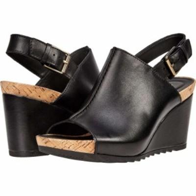 クラークス Clarks レディース サンダル・ミュール シューズ・靴 Flex Stitch Black Leather