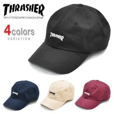 THRASHER スラッシャー ローキャップ 帽子 ストラップバック MAG LOGO CAP マグロゴ 刺繍 帽子 20TH-C01