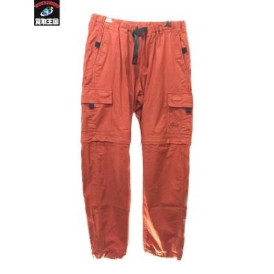 STUSSY×Gramicci Cargo Zip Off Pant(ASIA:M/USA:S) オレンジ ステューシー グラミチ