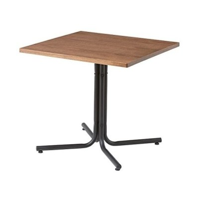 AZUMAYA カフェテーブル ダリオ 75cm幅 END-223TBR (ブラウン 幅75cm)