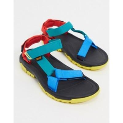 テバ レディース サンダル シューズ Teva Hurricane XL2 sandals in 90s color block 90s multi