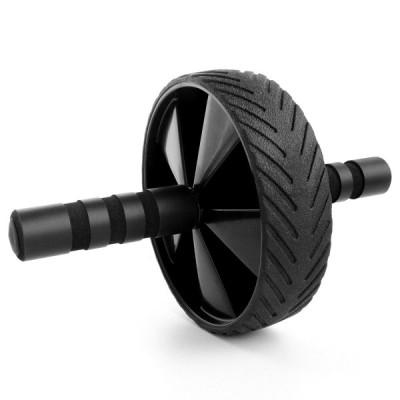 アブホイール 腹筋ローラー 超静音 シングルタイプ ブラック