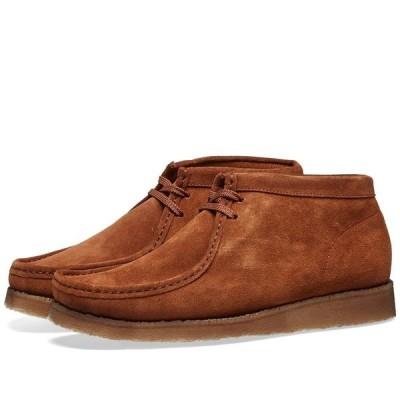 パドモア&バーンズ Padmore & Barnes メンズ ブーツ シューズ・靴 P404 Original Boot Snuff Suede