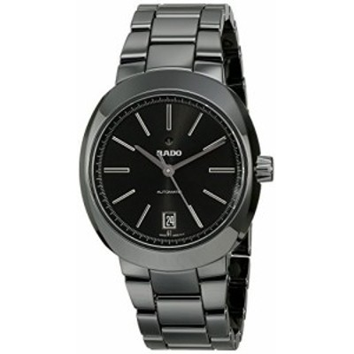 Rado Men s r15610172?D - Star Analog Display Swiss Automatic Black Watch