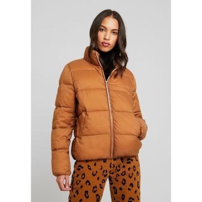 オンリー ジャケット&ブルゾン レディース アウター ONLNINA QUILTED - Winter jacket - toasted coconut