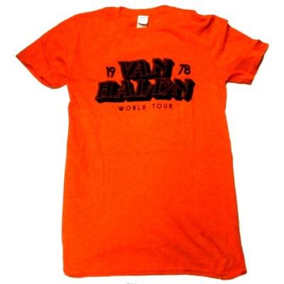 【VAN HALEN】ヴァンヘイレン「WORLD TOUR」Tシャツ