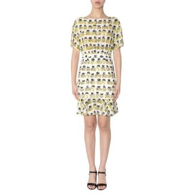 ブティックモスキーノ レディース ワンピース トップス Boutique Moschino Printed Ruched Dress -
