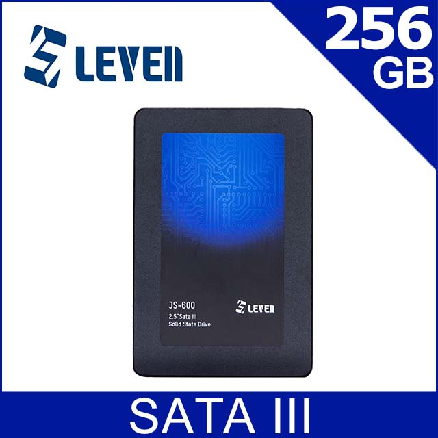 LEVEN JS600系列 256GB SATA III SSD固態硬碟