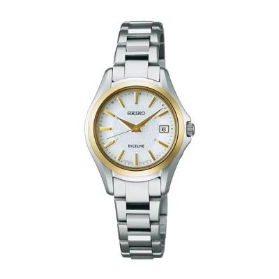 セイコー エクセリーヌ SWCW098 レディース 腕時計 コンフォテックス チタン SEIKO ソーラー電波時計 新品