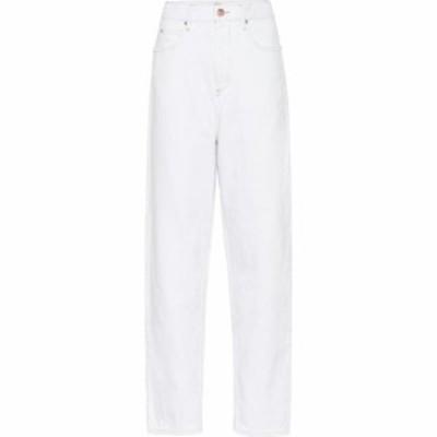 イザベル マラン Isabel Marant. Etoile レディース ジーンズ・デニム ボトムス・パンツ Corsy high-rise straight jeans White