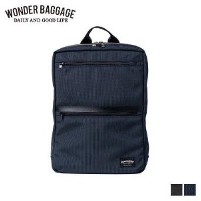 ワンダーバゲージ WONDER BAGGAGE リュック バッグ バックパック メンズ レディース 9L GOODMANS SLIM SACK ブラック ネイビー 黒 WB-G-0