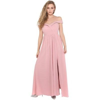 クリスプ ワンピース レディース トップス Cocktail dress / Party dress - pink