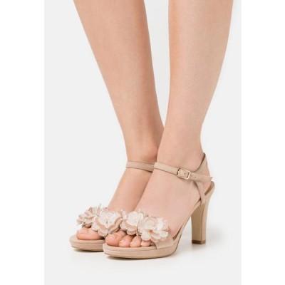 アンナフィールド レディース 靴 シューズ LEATHER - High heeled sandals - beige