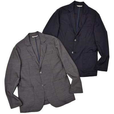giab's ARCHIVIO ジャブスアルキヴィオ シャカウール ストレッチ セットアップ シングル2Bジャケット◇