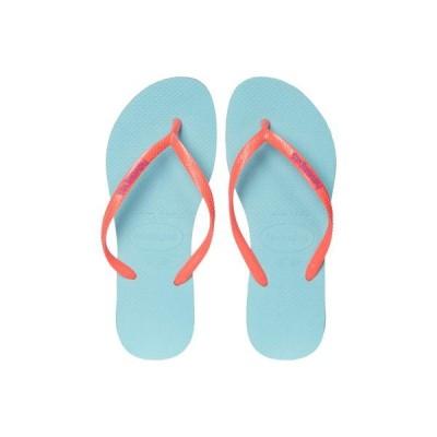 ハワイアナス レディース サンダル シューズ Slim Logo Flip Flops