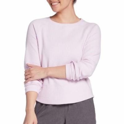 キャリー アンダーウッド CALIA by Carrie Underwood レディース トップス Textured Crewneck Pullover Lavender Sky