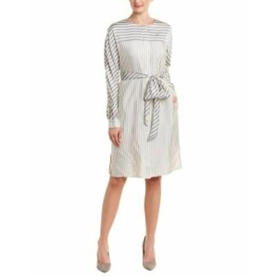 ファッション ドレス St. John Shirtdress