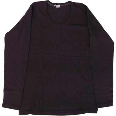エントリーSG ハロプラス ENTRY SG 長袖 Uネック Tシャツ ブラックベリー メンズ HALO PLUS BLACK BERRY 154