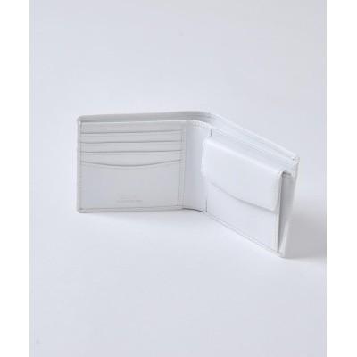 【シップス】 SD:  2つ折 ウォレット (財布) メンズ ホワイト ONESIZE SHIPS
