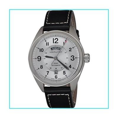 Hamilton Khaki Field White Dial SS Leather Automatic Men's Watch H70505753【並行輸入品】