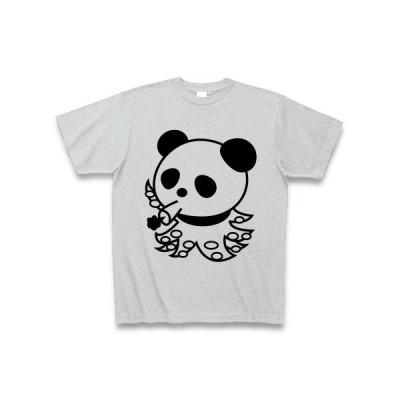 タコパンダ Tシャツ(グレー)