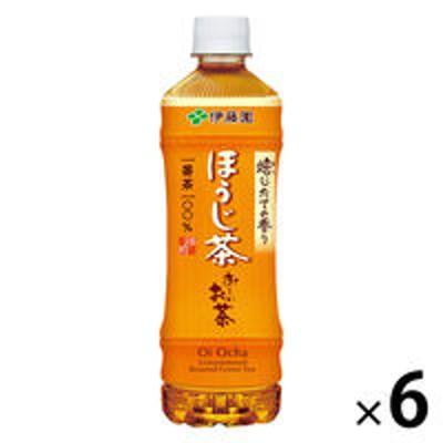 伊藤園伊藤園 おーいお茶 ほうじ茶 525ml 1セット(6本)