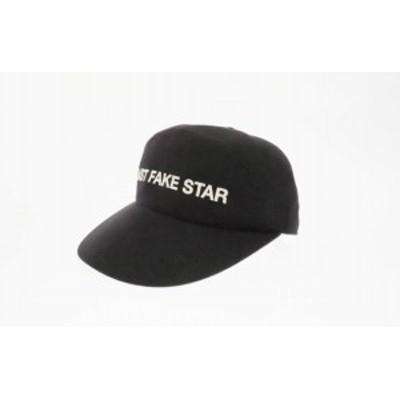 【中古】ラッドミュージシャン LAD MUSICIAN ×黒夢 清春 LAST FAKE STAR ラストフェイクスター キャップ●▲ 200726 0004